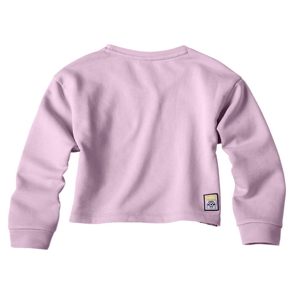 Puma-Kinder-Pullover-Sweat-Sweatshirt-Pullover-Minions-Crew-Sweat-G