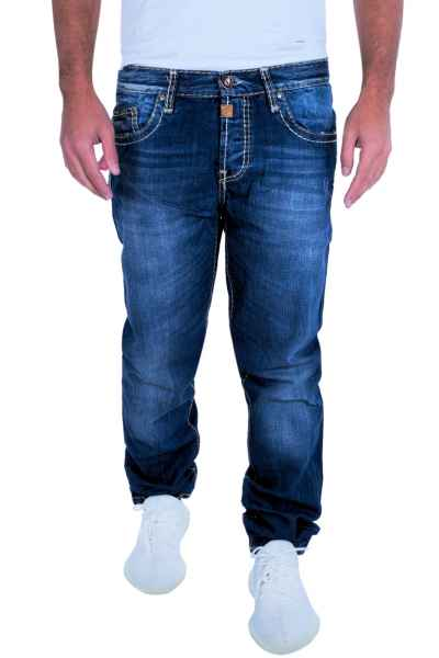 CIPO   BAXX Herren Jeans Clubwear Denim Hose C-0688 Straight Dicke Naht  Designer C f67cbe3447