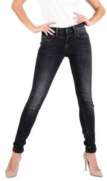 M.O.D Damen Jeans Ellen Skinny AU18-2002 Hüft Hose Medium Waist Skinny Leg MOD