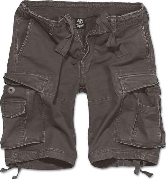 BRANDIT Herren Cargo Shorts Vintage 2002 kurze Hose Bermuda Army Outdoor NEU 2002