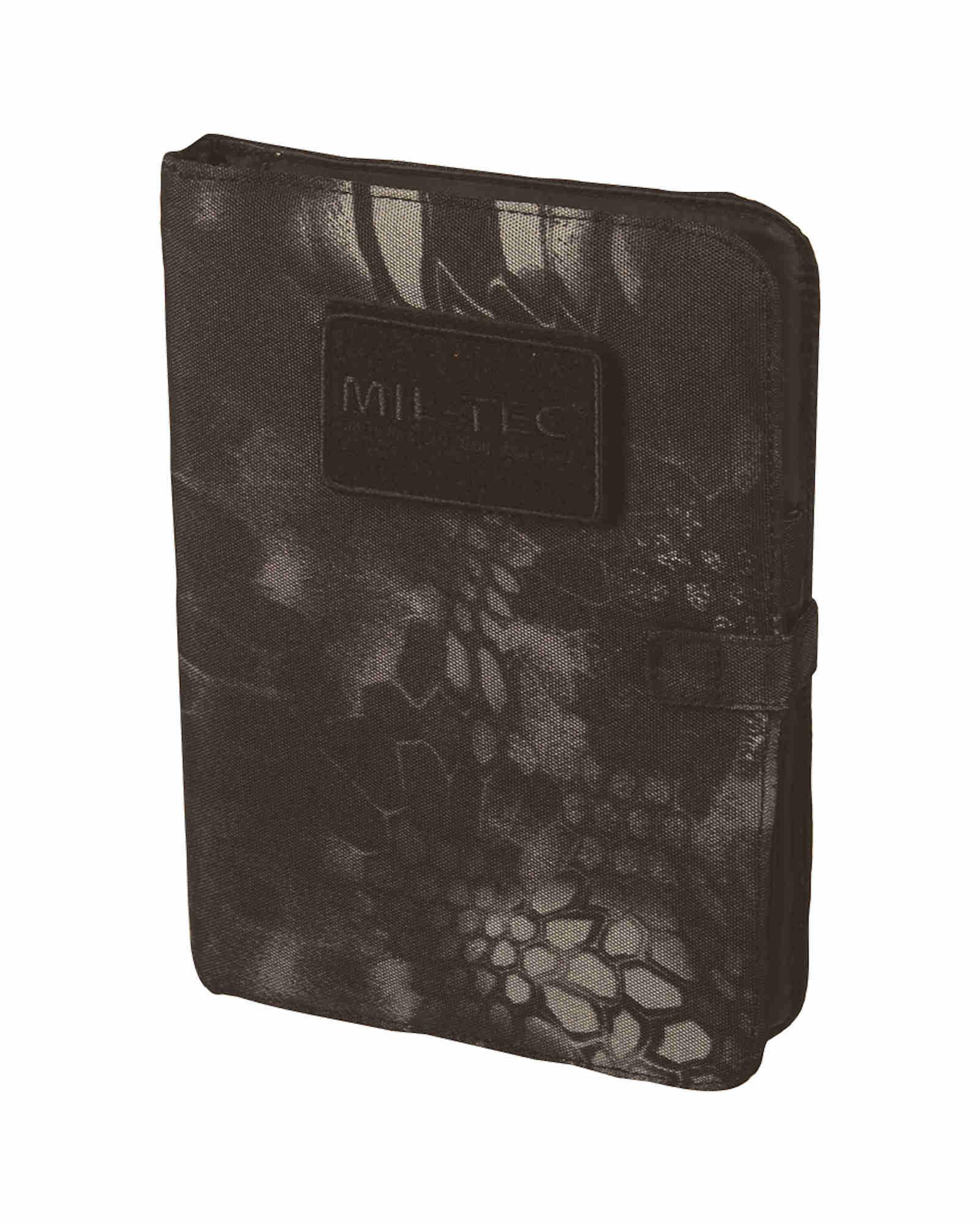 Mil-tec Tactical Notebook Medium Mandra Night Notizbuch Herren-accessoires