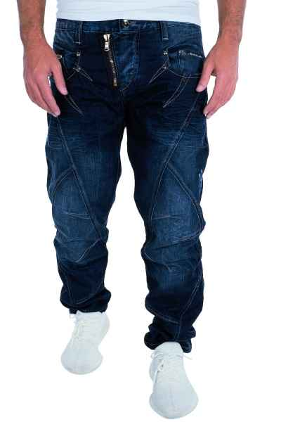 CIPO & BAXX Herren Jeans Clubwear Denim Hose C-0768 Straight Designer NEU C 0768