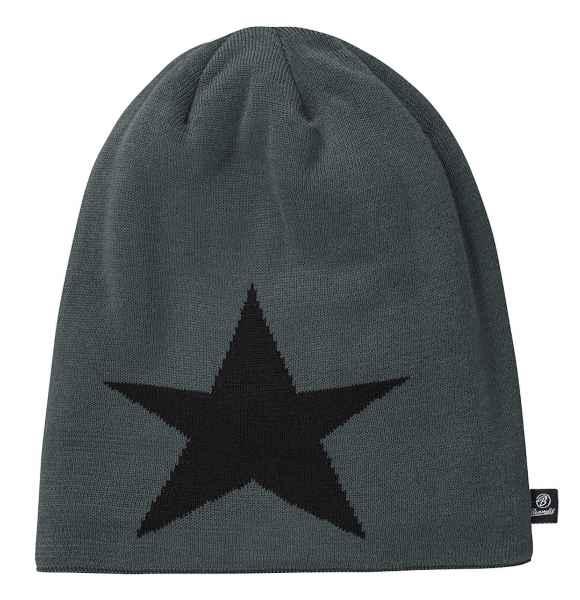 Brandit Beanie STAR 7001 Strickmütze Unisex Onesize Slouch Mütze
