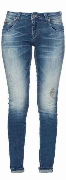 M.O.D Damen Jeans Scarlett Slim NOS-2001 Hüft Hose Low Waist Slim Leg MOD