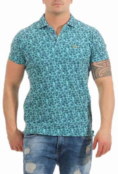 NEW ZEALAND AUCKLAND Poloshirt Bedruckt Print Sommer 100% Baumwolle